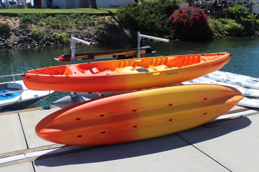 kayak rentals San Diego bay
