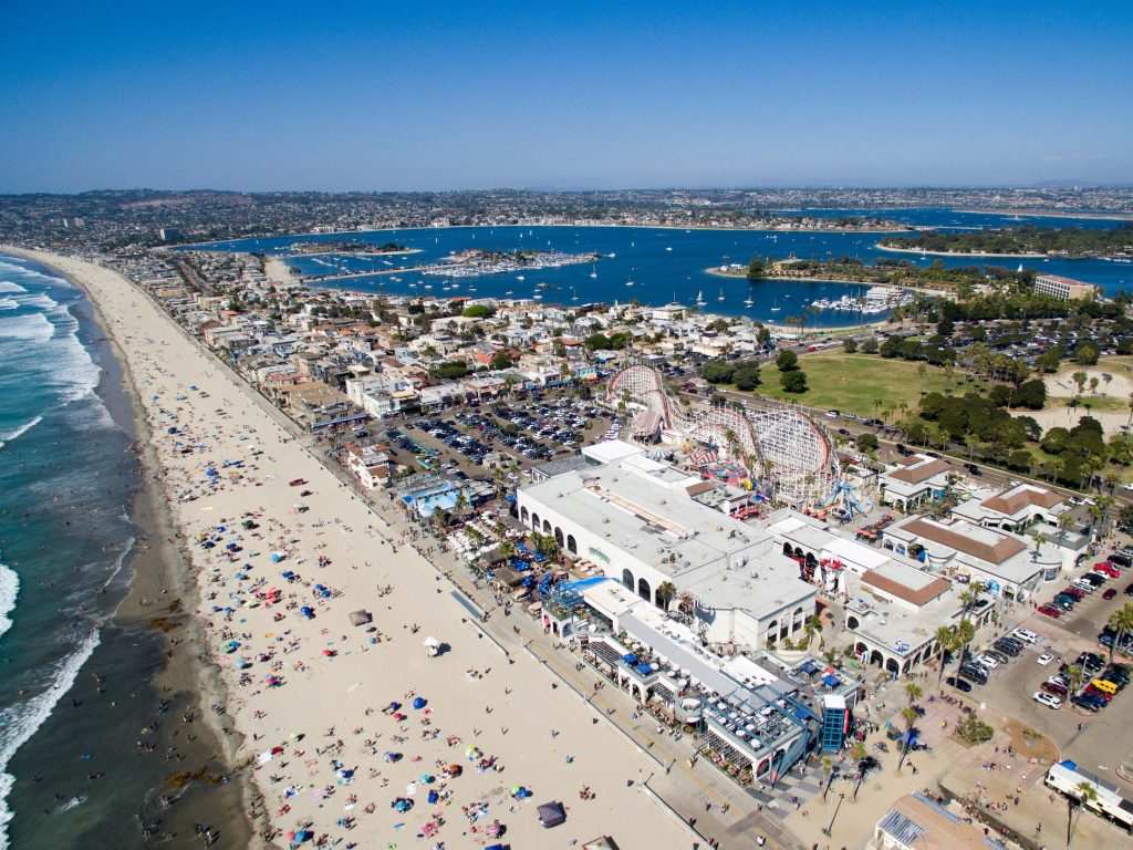 Sandy Spotlight Mission Beach